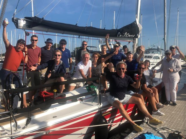 SailForce teambuilding apres sail