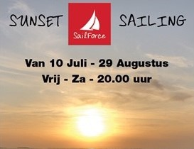 Sunset sailing wemeldinge zeeland SailForce